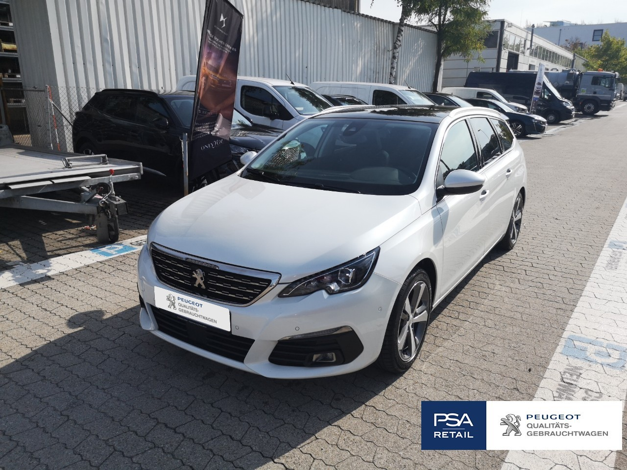 Peugeot 308 SW BlueHDi 130 EAT8 Stop & Start Allure NAVI