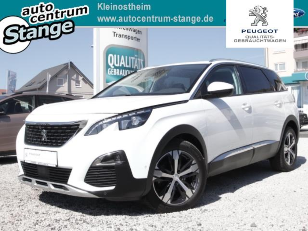 Peugeot 5008 Allure 130 7-Sitzer Full -Led Panorm- Schiebedach