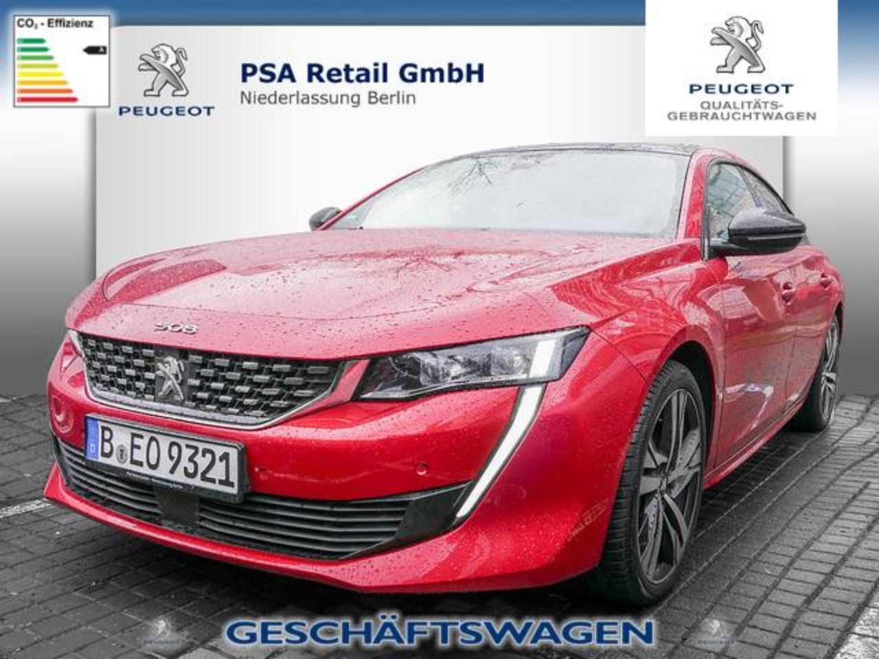 Peugeot 508 GT 1.6 PureTech 225 SHZ LED NIGHT VISION ACC