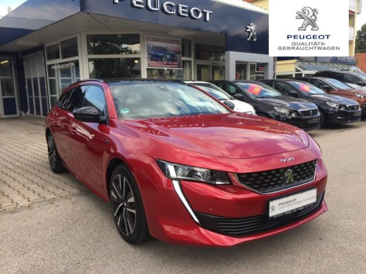 Peugeot 508 1.6 PureTech 225 SW GT Panorama*Night Vision*Focal