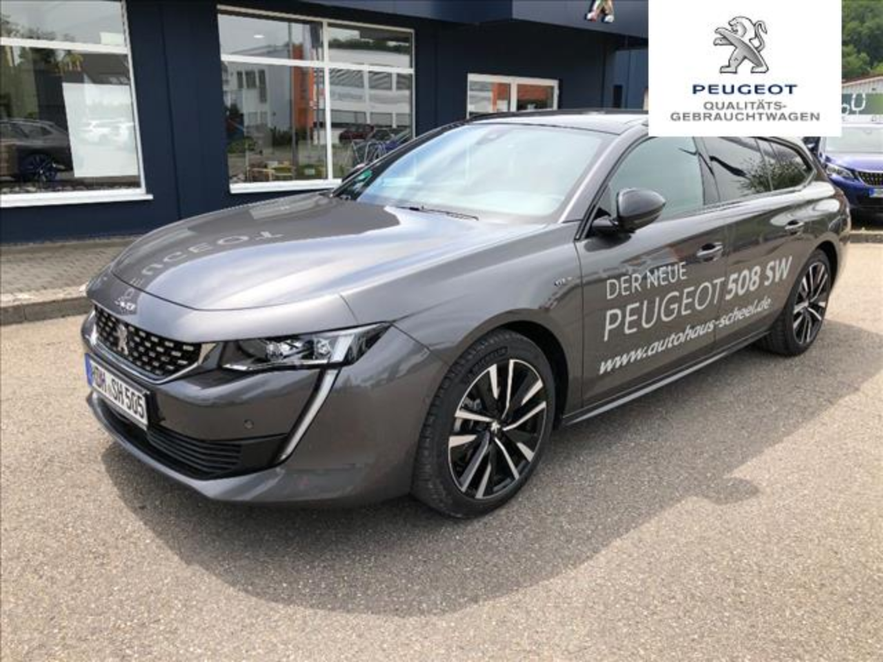 Peugeot 508 SW BlueHDi 180 EAT8 GT Navi Panorama Dach