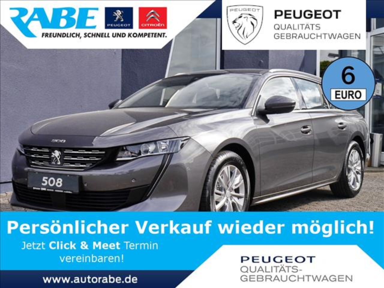 Peugeot 508 SW Active HDi 130 Sitzhzg+Navi+neues Modell