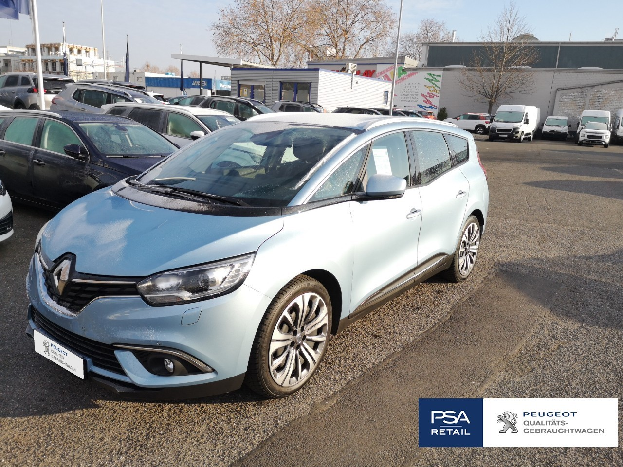 Renault Grand Scenic ENERGY TCe 115 EXPERIENCE Massage Navi Teillede
