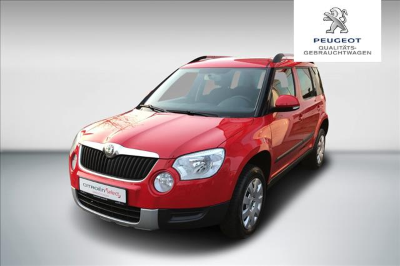 Skoda Yeti 1.2 TSI Active PLUS EDITION