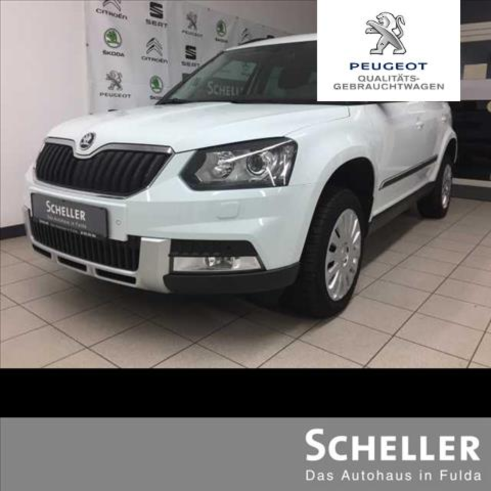 Skoda Yeti Outdoor 2.0 TDI 4x4 DSG Adventure