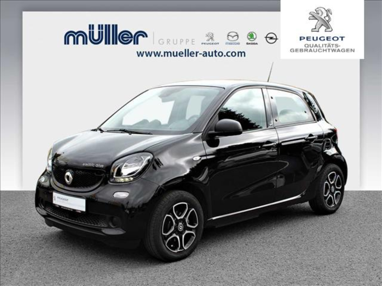 Smart Forfour electric drive passion NAVI/RFK/SHZ