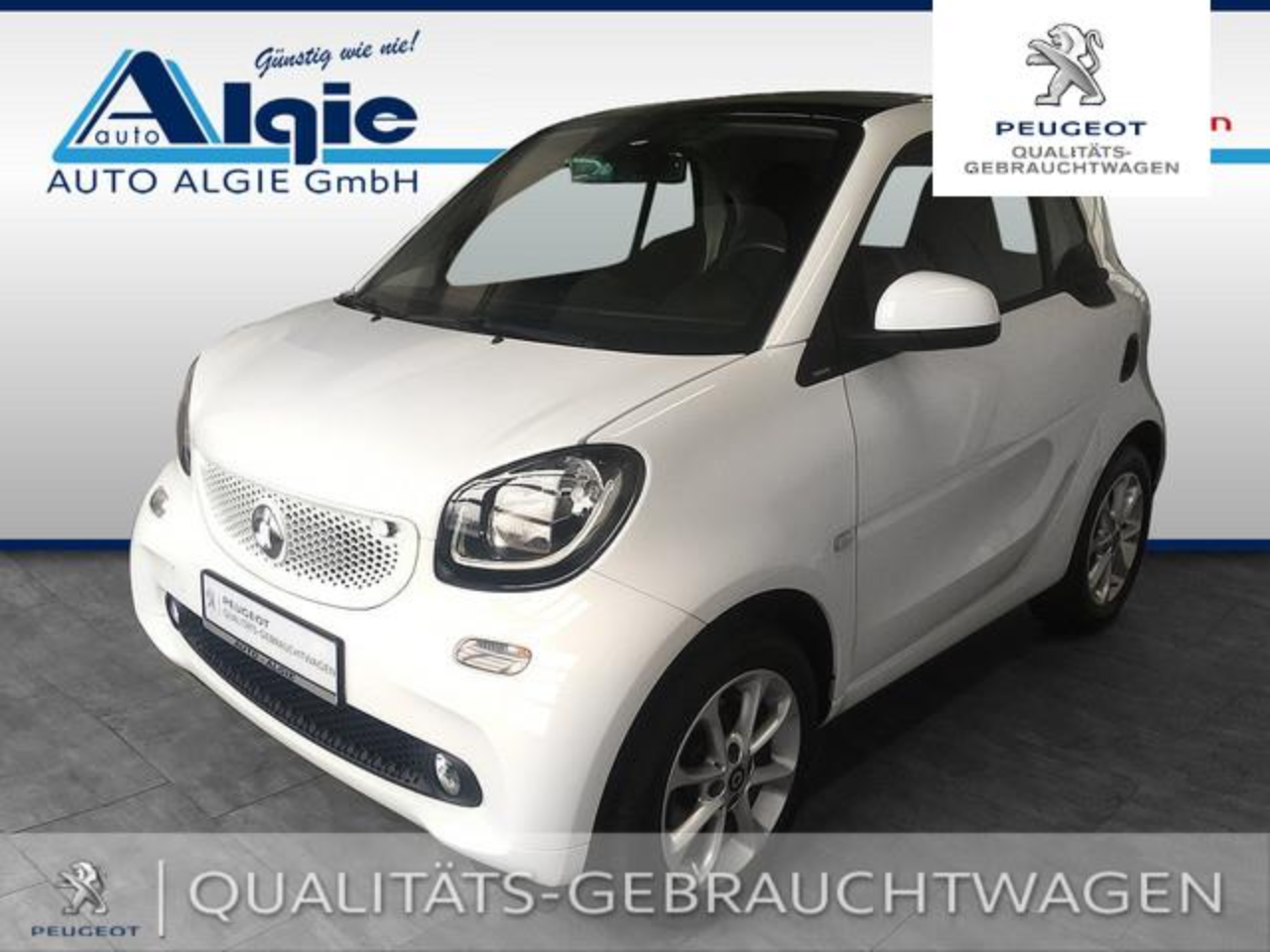 Smart Fortwo coupe passion *Klimaautom.*Sitzheizg*