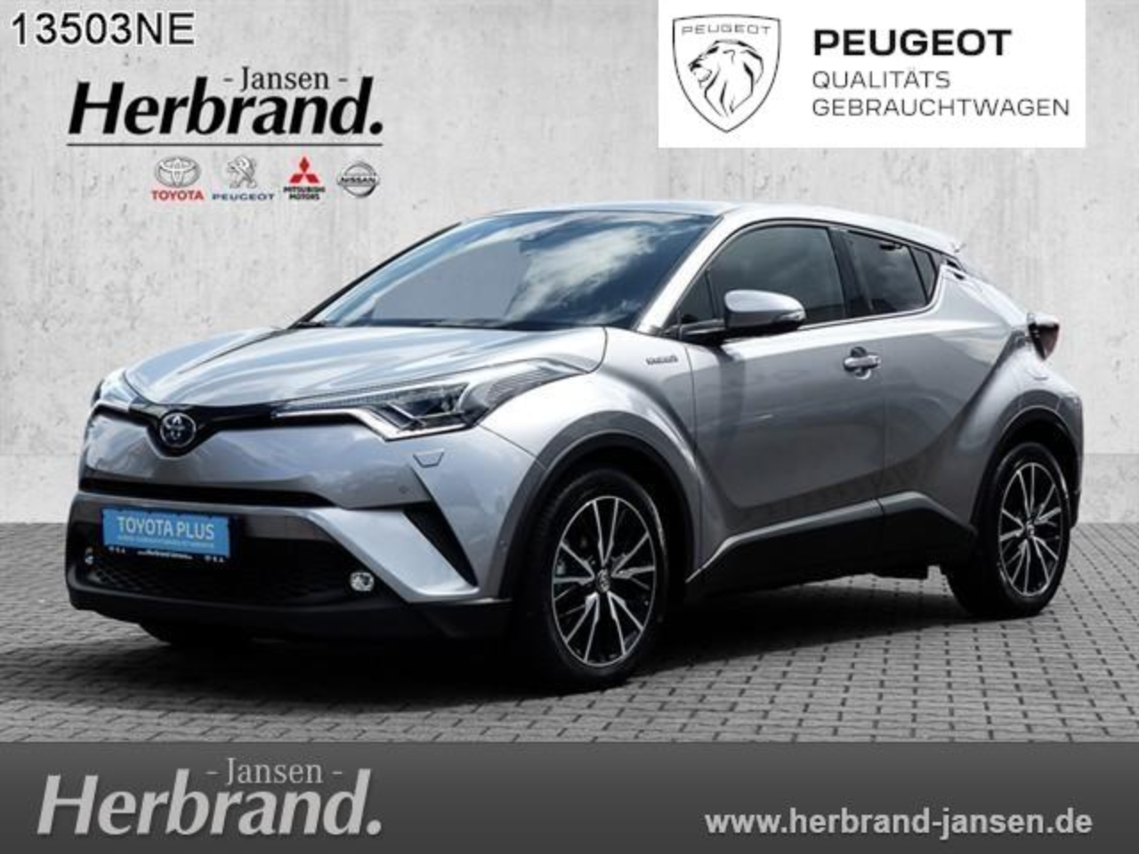 Toyota C-HR Hybrid Lounge*Teilleder*Full-LED*