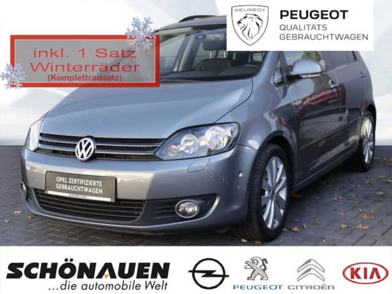 Volkswagen Golf PLUS 1.4 TSI TEAM +WINTER-PACK+PDC+16LM++