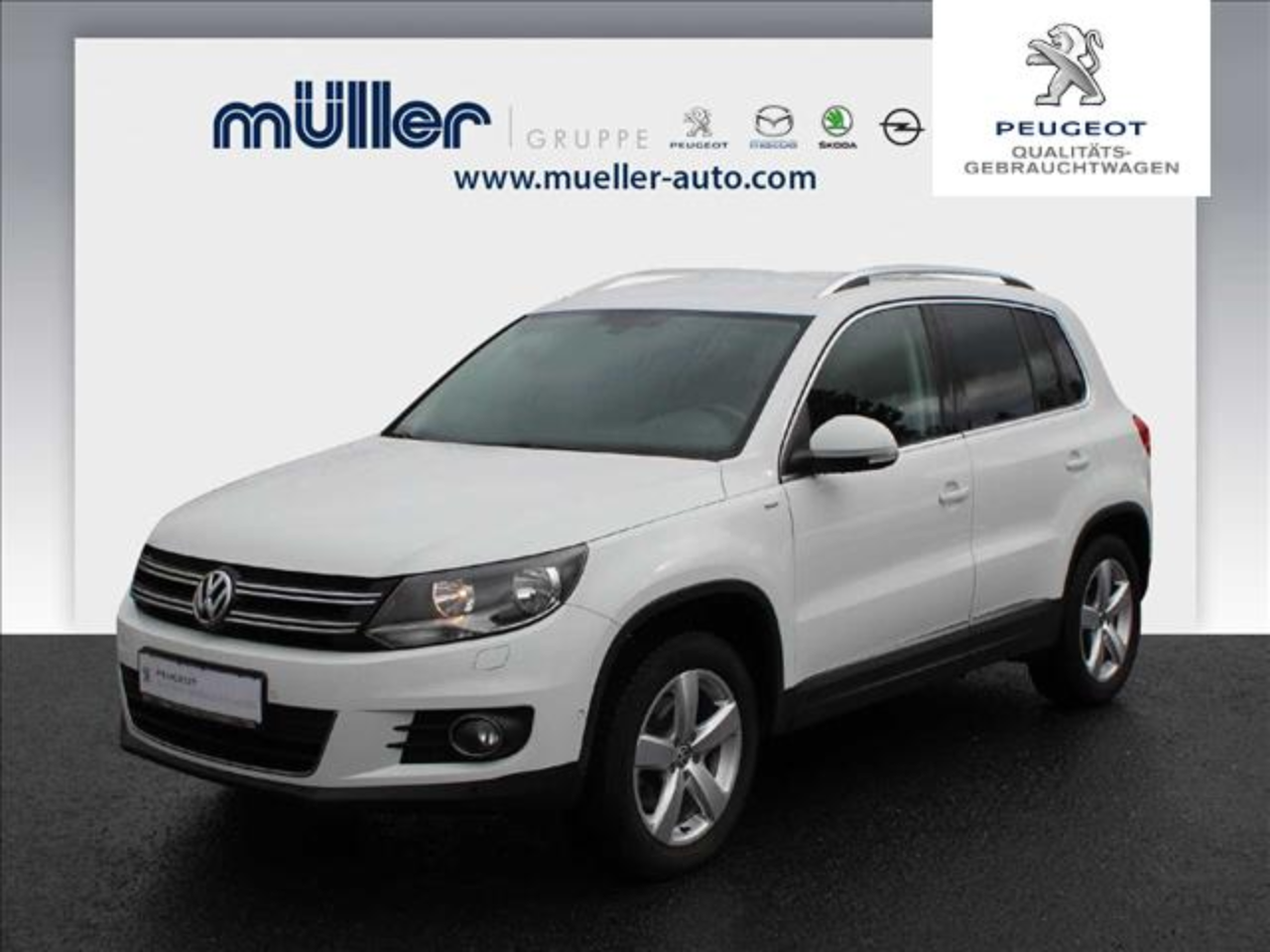 Volkswagen Tiguan 2.0 TDI 4Motion Cup Sport & Style