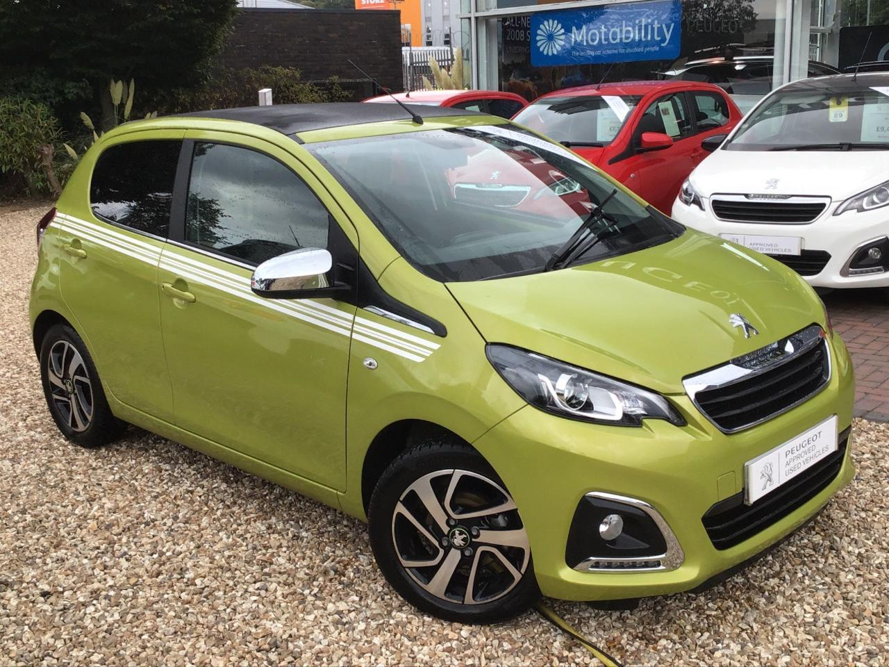 Peugeot 108 1.0 Collection Top! 2 Tronic (s/s) 5dr