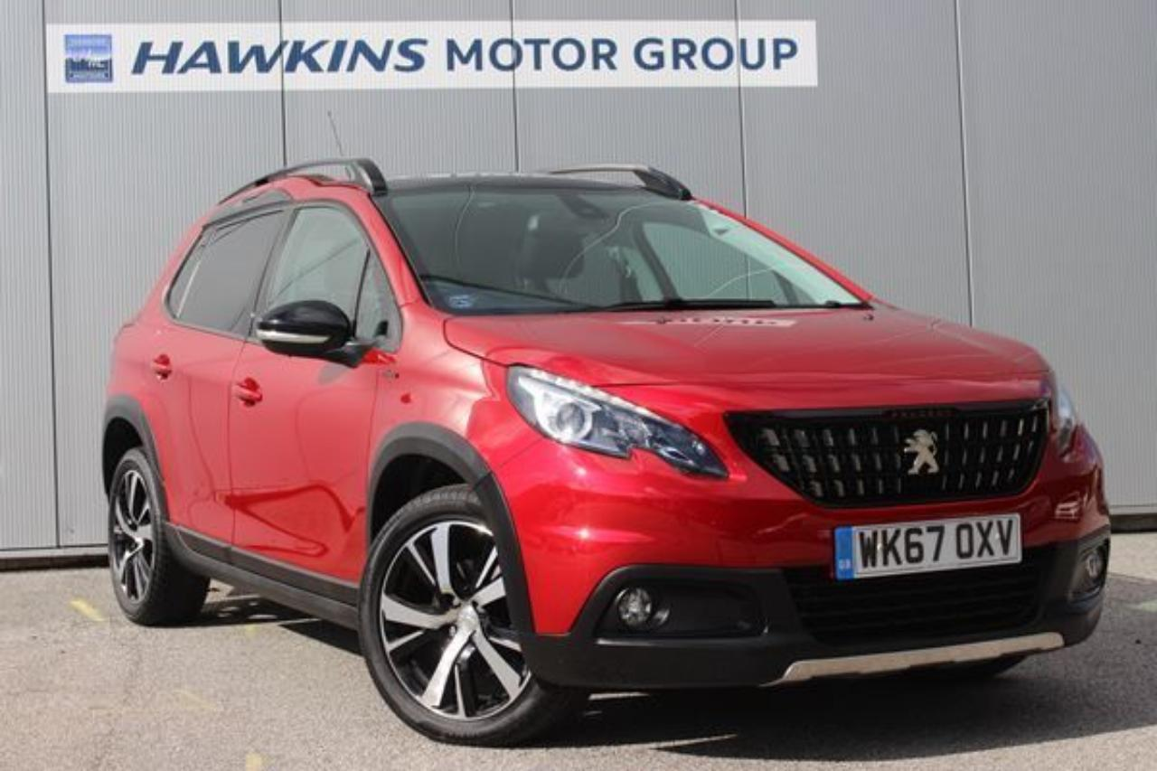 Peugeot 2008 1.6 BHDi GT Line 120 *HALF LEATHER, RED STITCHING!