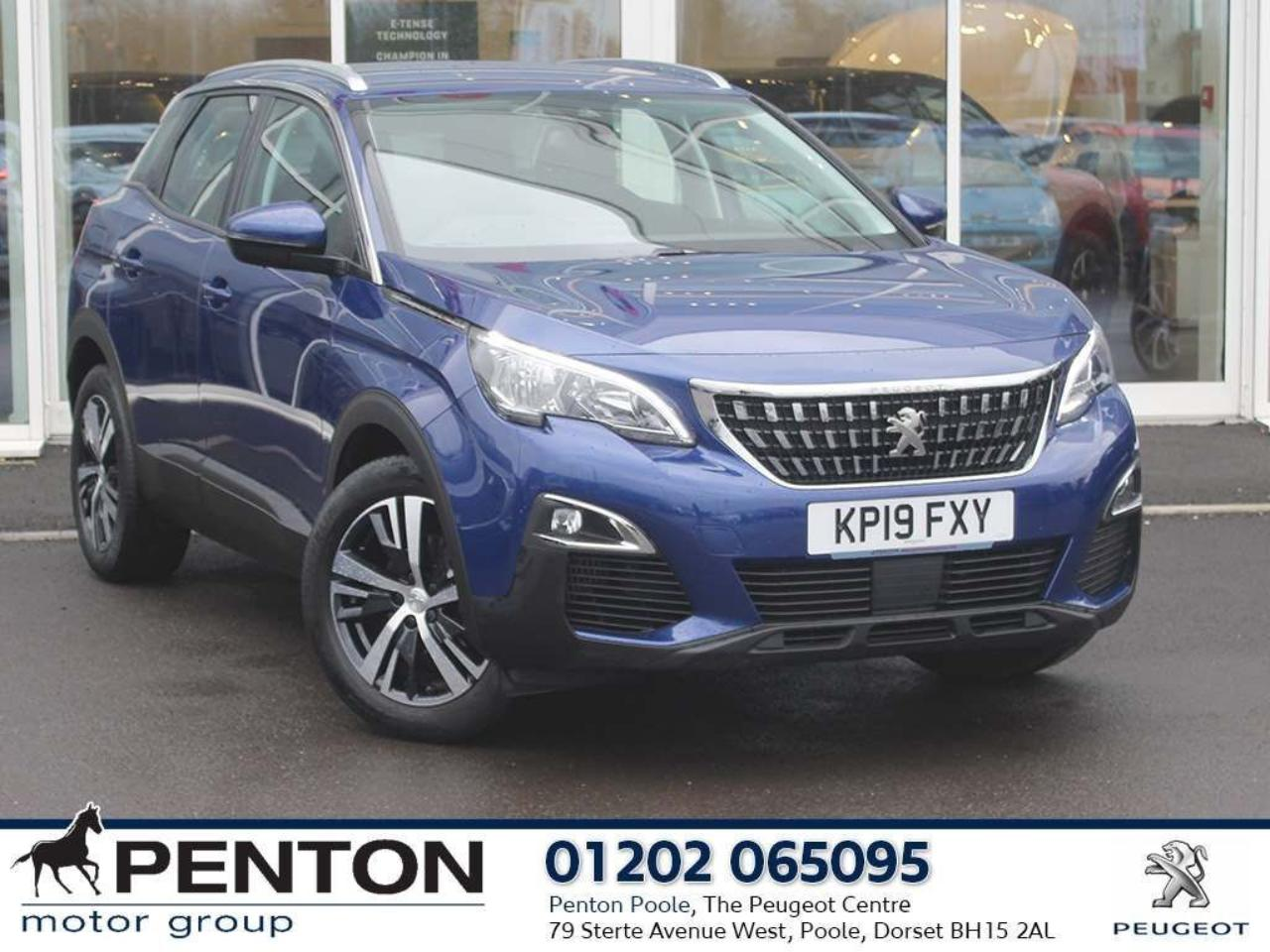 Peugeot 3008 1.5 BlueHDi Active EAT (s/s) 5dr