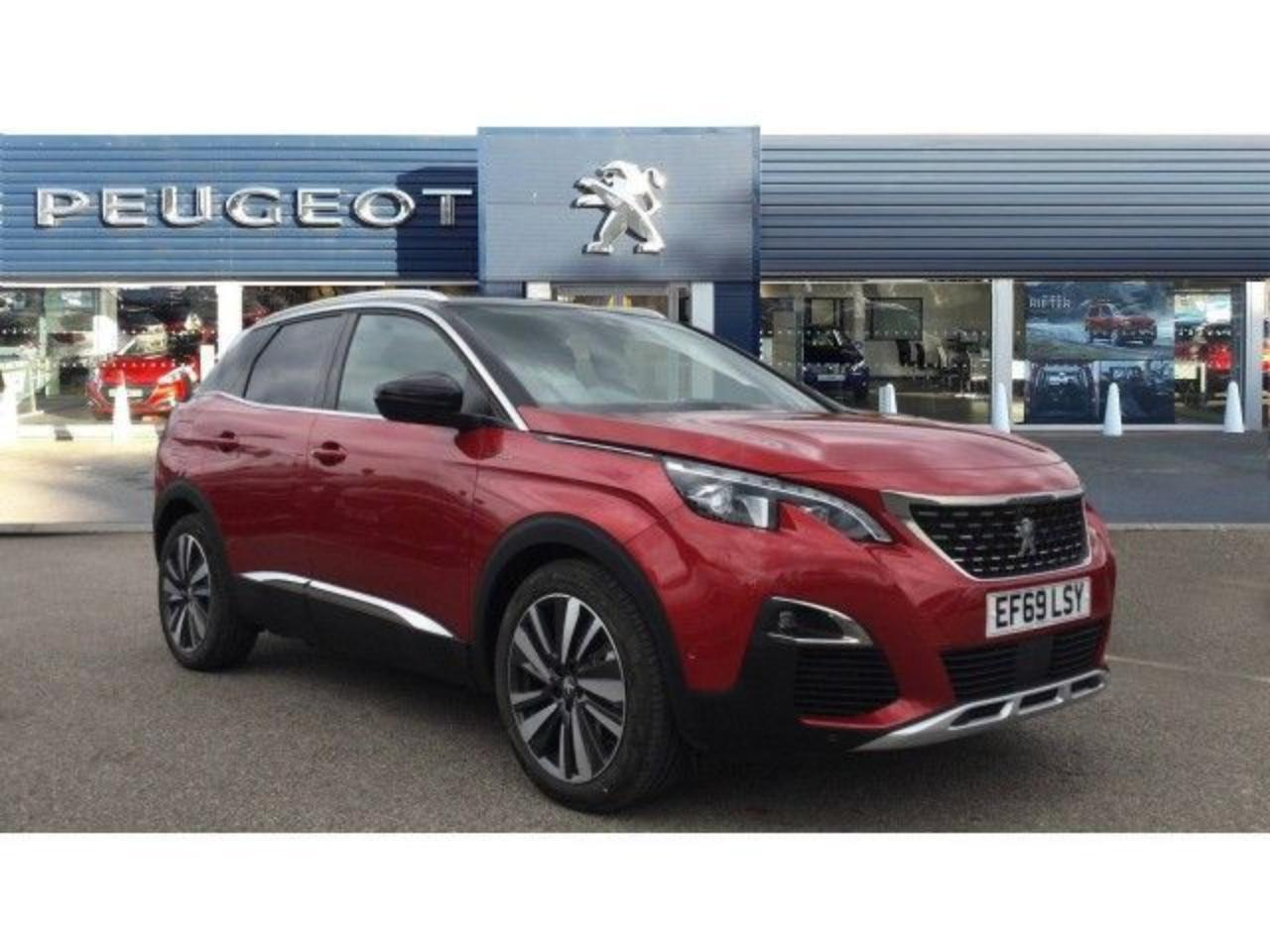 Peugeot 3008 1.6 Hybrid4 300 GT 5Dr E-eat8 Estate