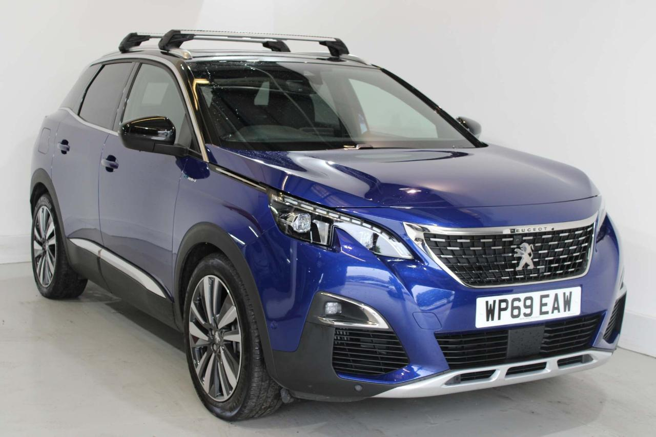 Peugeot 3008 1.6 13.2kWh GT e-EAT 4WD (s/s) 5dr