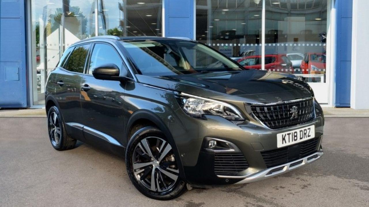 Peugeot 3008 1.5 BlueHDi Allure EAT (s/s) 5dr