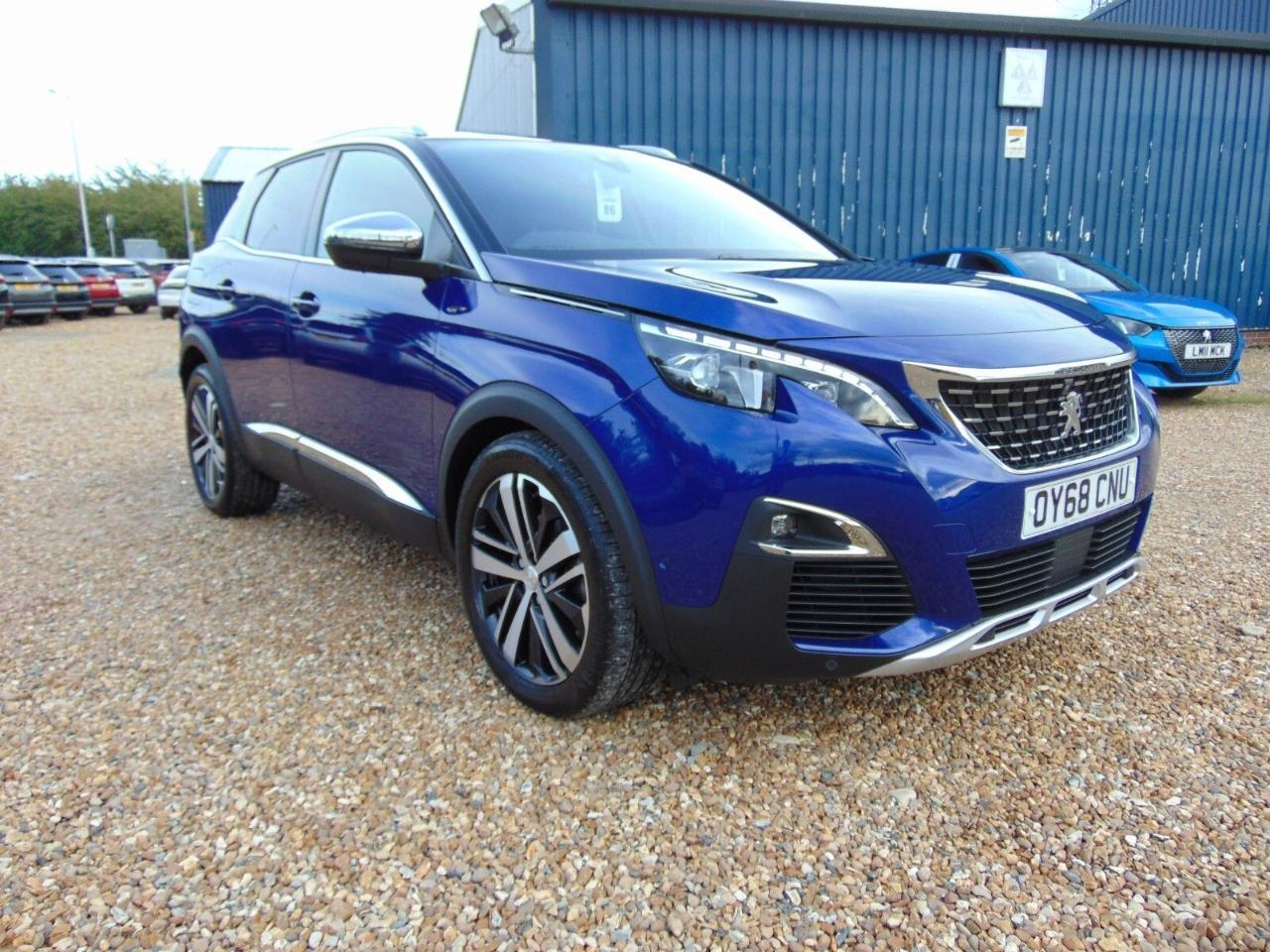 Peugeot 3008 2.0 BlueHDi 180 GT 5dr EAT8