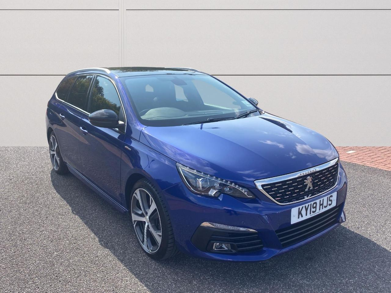 Peugeot 308 SW 1.5 BlueHDi GT Line Estate 5dr Diesel EAT (s/s) (1