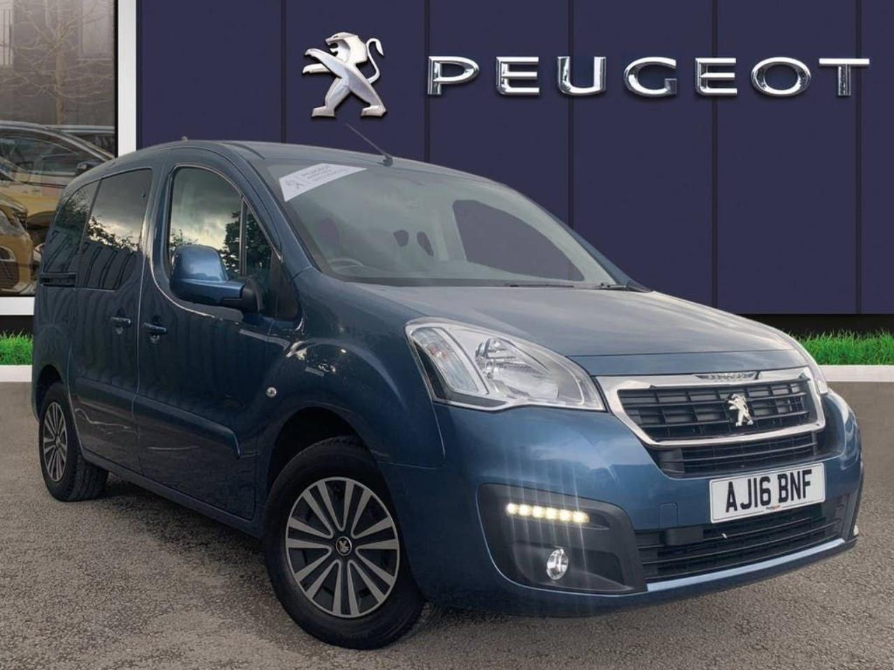 Peugeot Partner Tepee 1.6 BLUEHDI 75PS ACTIVE 5DR