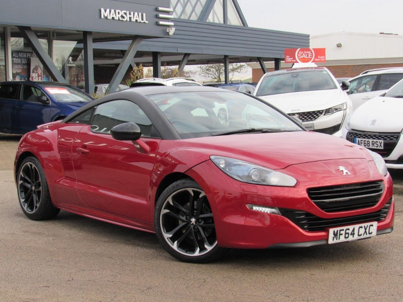 Peugeot RCZ 1.6 THP Red Carbon 2dr