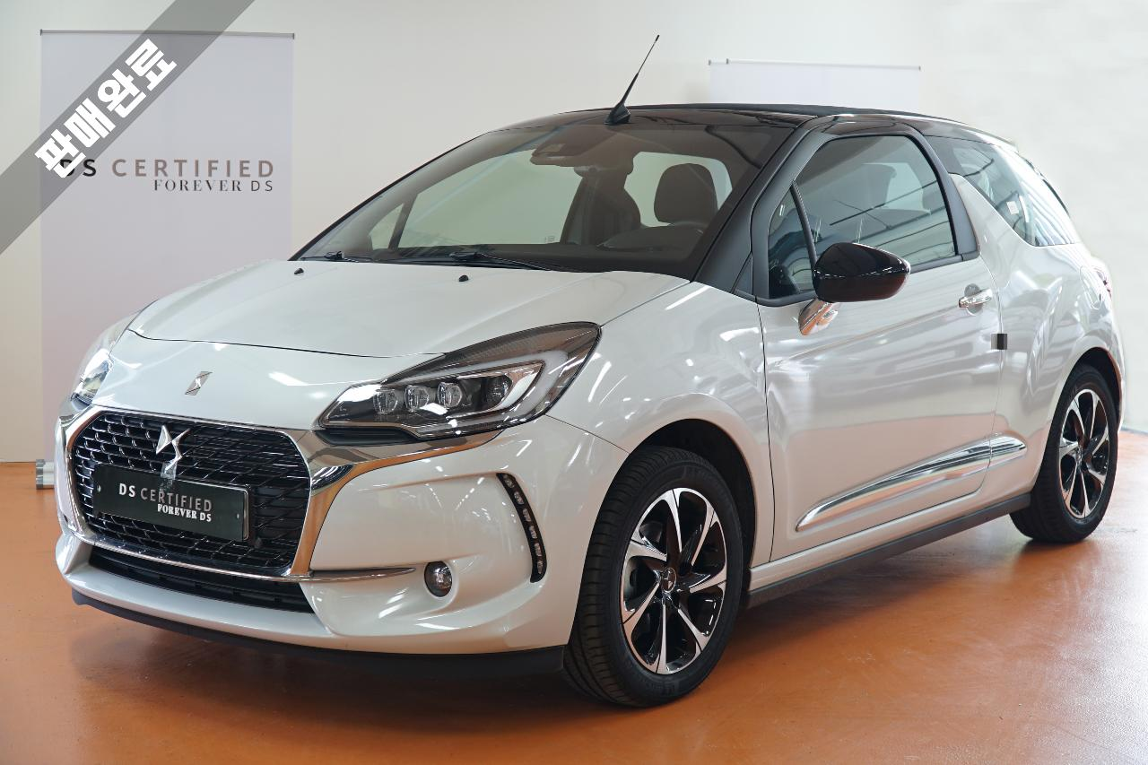 Ds DS 3 Cabriolet SO CHIC 1.6 BLUEHDI