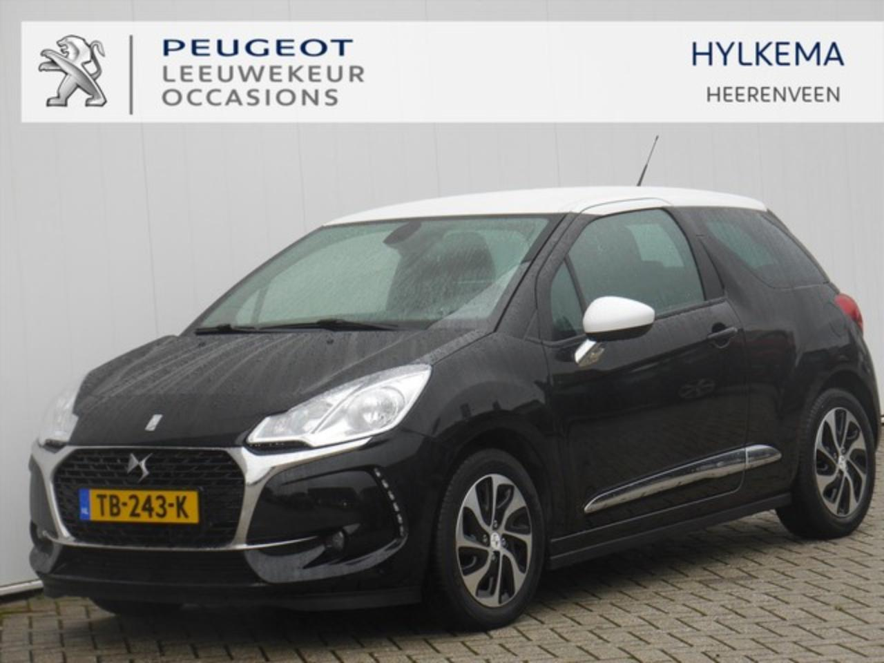 Ds DS 3 1.2 VTI 82pk So Chic | Navigatie | Apple CarPlay |