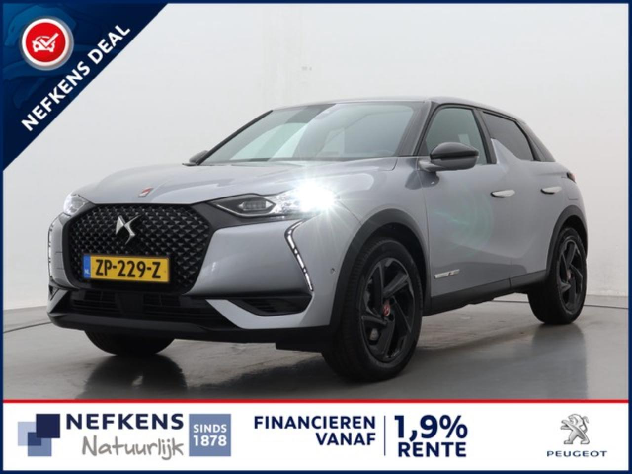 Ds DS3 Crossback DS 3 CROSSBACK 1.2 130 pk AUTOMAAT PERFORMANCE LINE | CAMERA | NA