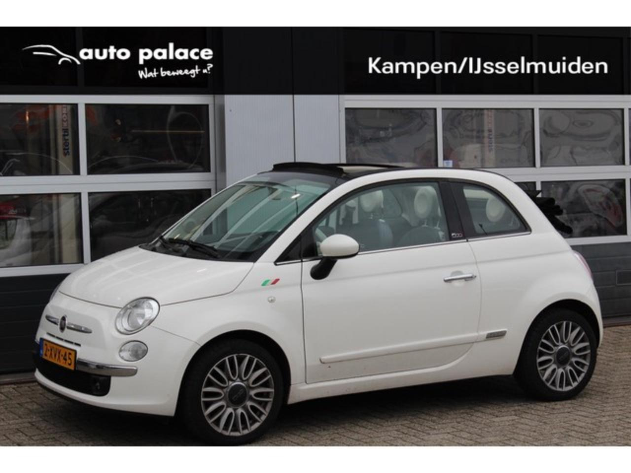 Fiat 500 C TWIN AIR 80PK CABRIO LOUNGE|AFNEEMBARE TREKHAAK|
