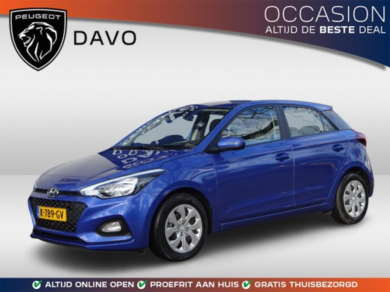 Hyundai I20 1.0 T-GDI Comfort Airconditioning, Apple Carplay,