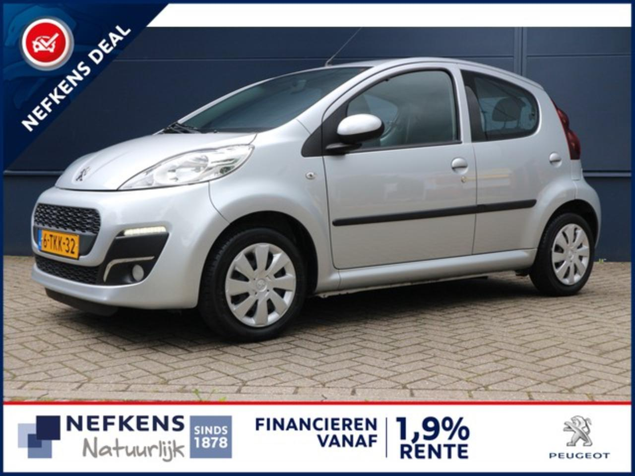 Peugeot 107 1.0 68 PK ACTIVE AIRCO | LED DAGRIJVERLICHTING | B