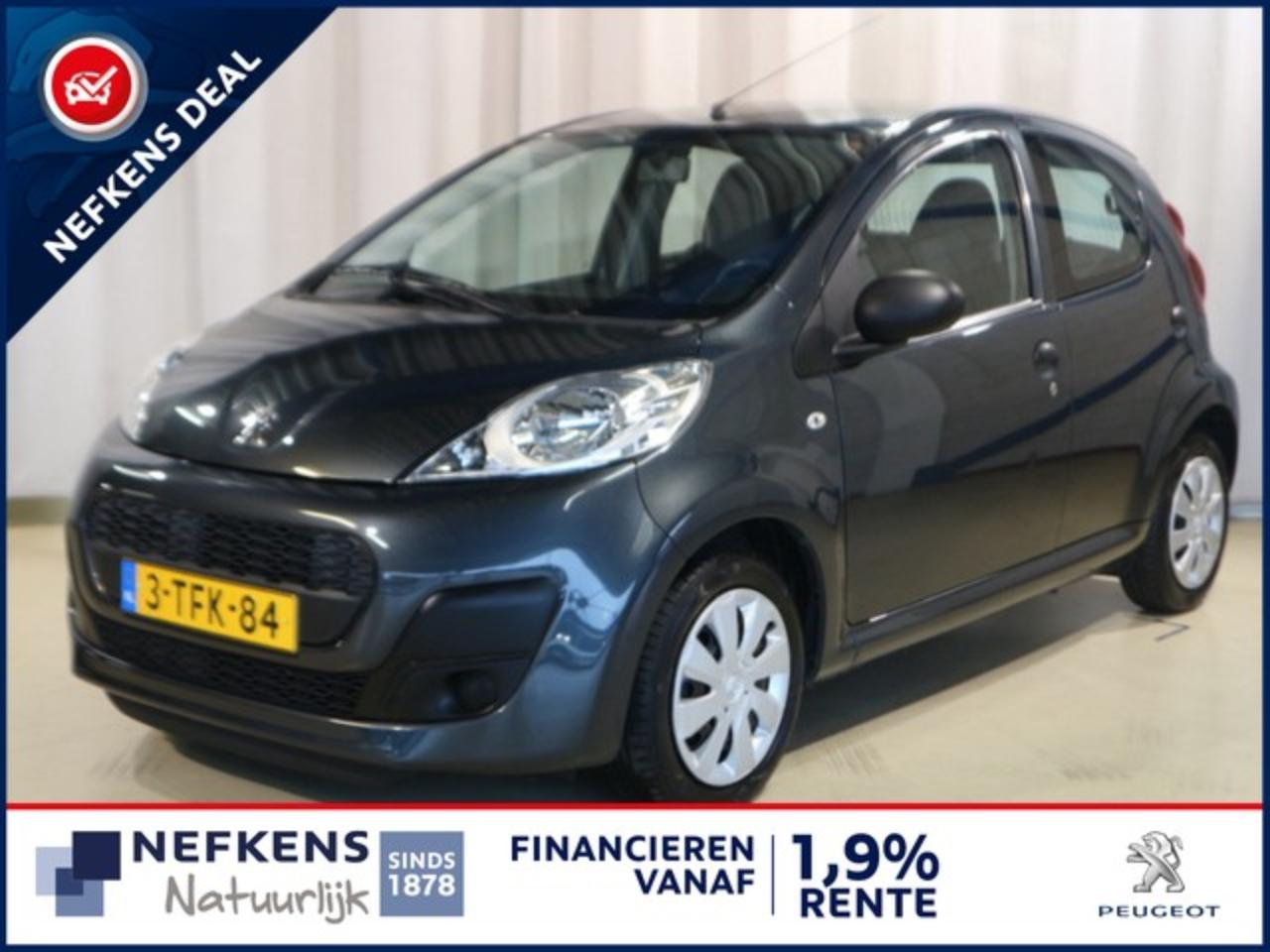 Peugeot 107 1.0 68 PK ACCESS PACK ACCENT + AIRCO + RADIO