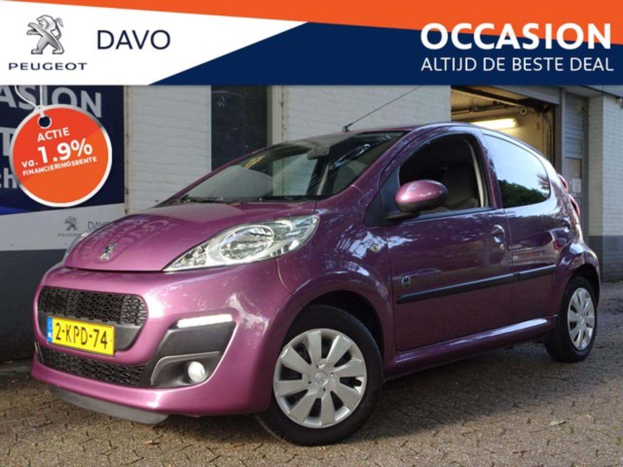 Peugeot 107 1.0 Envy Airconditioning, Blue tooth FINANCIERING