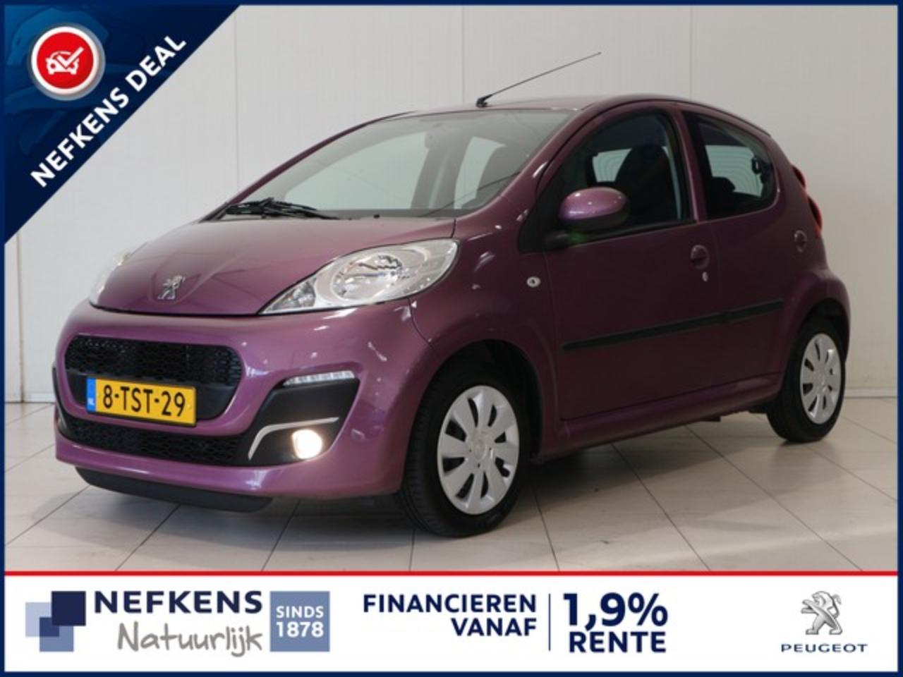Peugeot 107 1.0 68 PK ACTIVE | AIRCO | LED VERLICHTING | CENTR