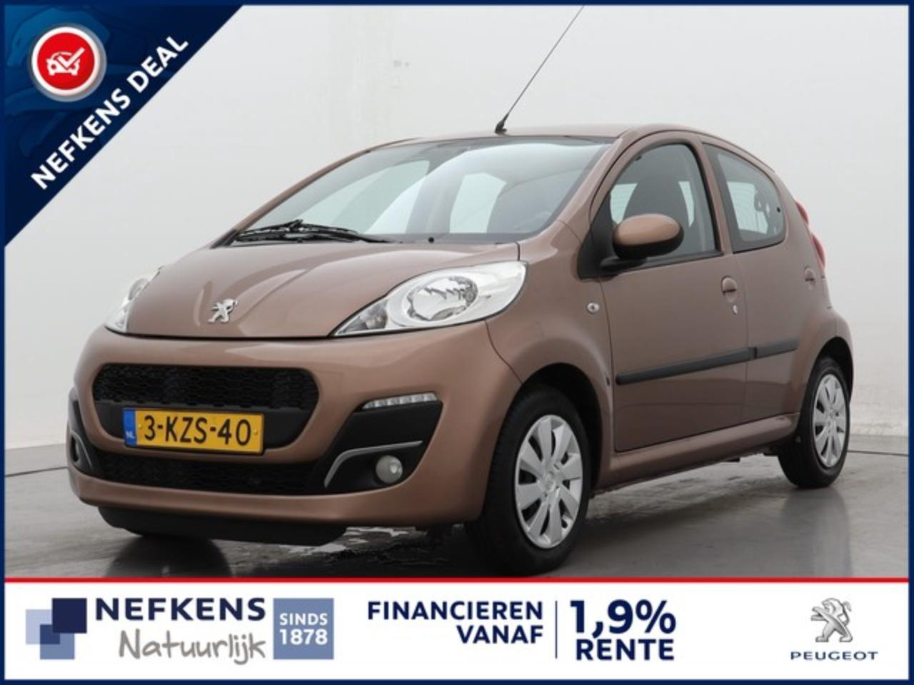 Peugeot 107 1.0 68pk Active | Airconditioning | Metallic | 5-D