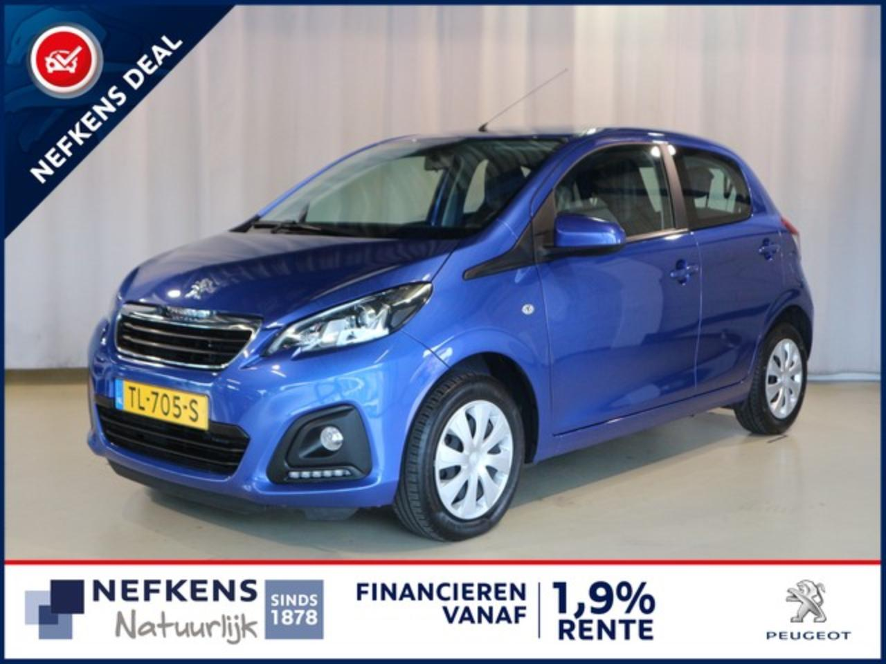 Peugeot 108 1.0 72 PK ACTIVE + AIRCO + RADIO + BLUETOOTH