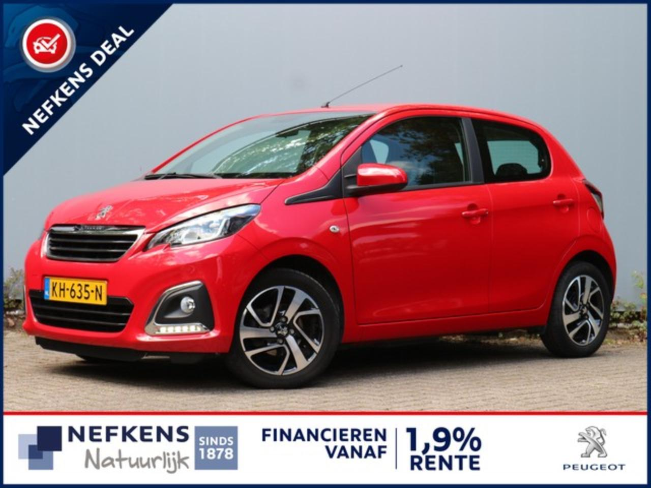 Peugeot 108 1.0 68 PK ALLURE AIRCO | BLUETOOTH .
