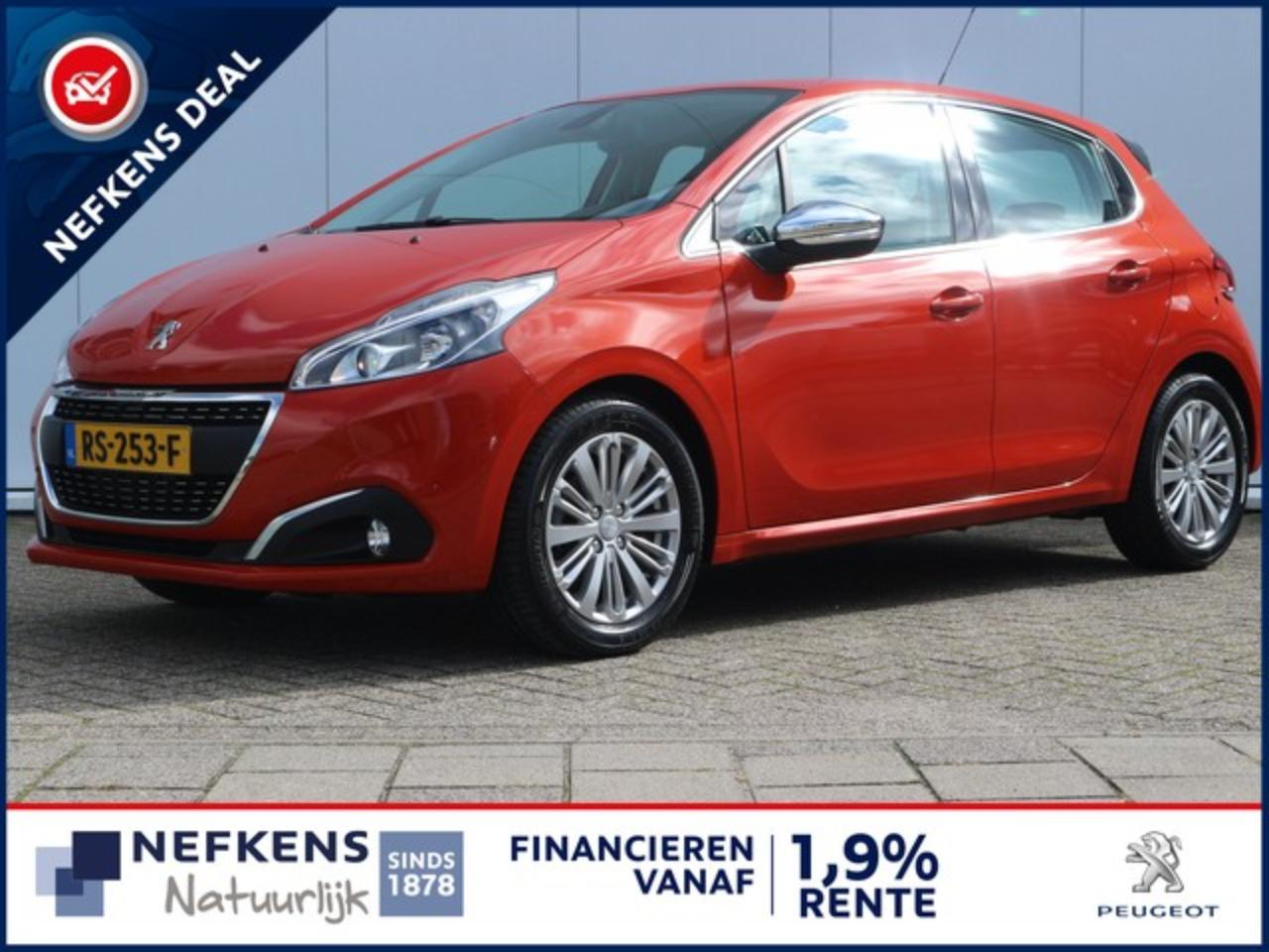 Peugeot 208 1.6 100 PK BLUE LEASE EXECUTIVE NAVIGATIE | PARKEE