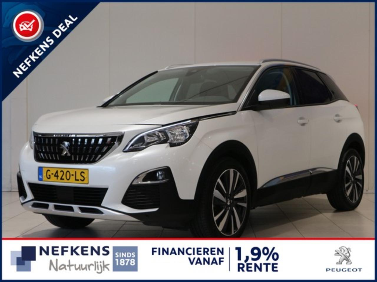 Peugeot 3008 SUV 1.2 130 PK ALLURE | NAVIGATIE | CAMERA | APPLE