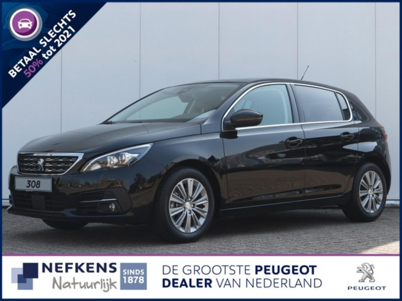 Peugeot 308 1.2 130 pk automaat Blue Lease Premium Direct uit