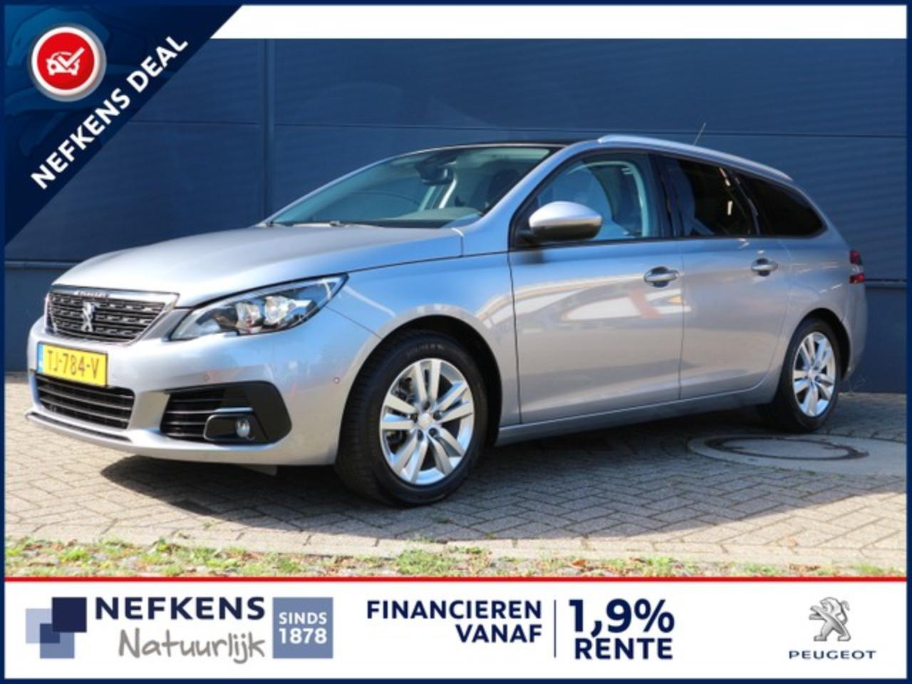 Peugeot 308 SW 1.2 110 PK BLUE LEASE EXECUTIVE PANORAMADAK | NAVI