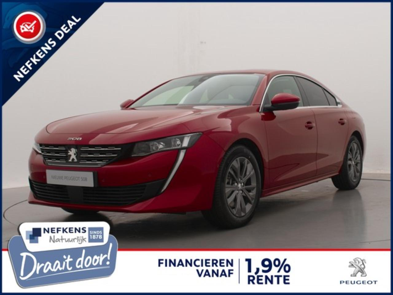 Peugeot 508 1.6 HYbrid 225pk Blue Lease Allure | Demo | Camera