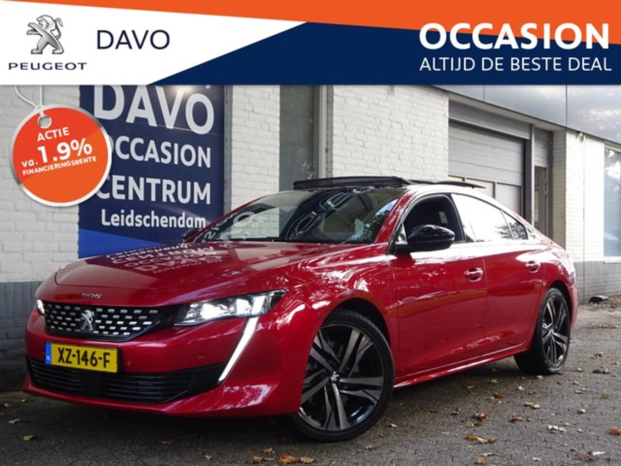 Peugeot 508 1.6 225pk EAT8 First Edition AUTOMAAT | Panorama e