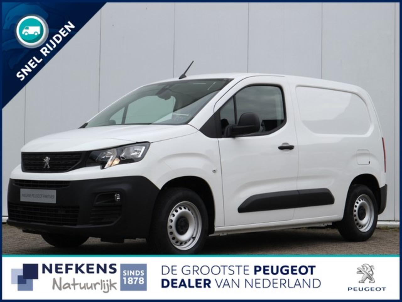 Peugeot Partner 1.5 75 pk BlueHDI Premium € 240,- p/m financial le