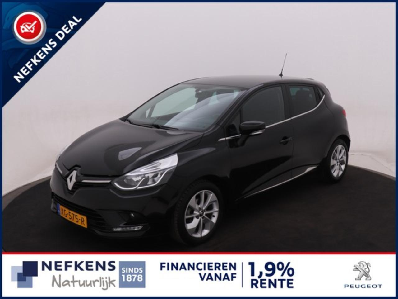 Renault Clio 0.9 TCe Limited   Airco   Navigatie   Cruise contr
