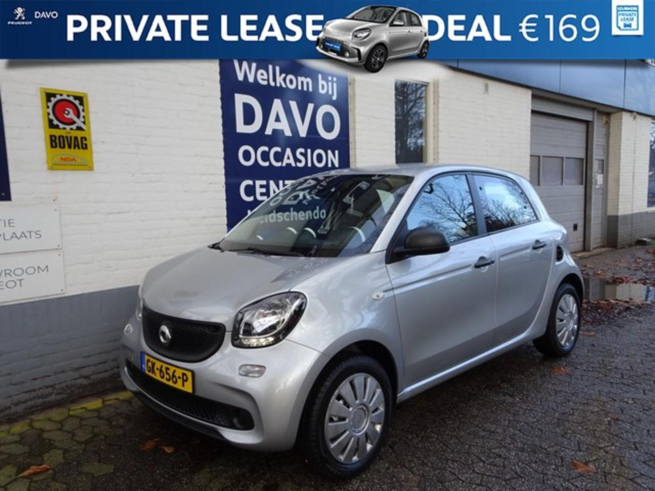 Smart Forfour 1.0 Pure Climate control, Bluetooth FINANCIERING V