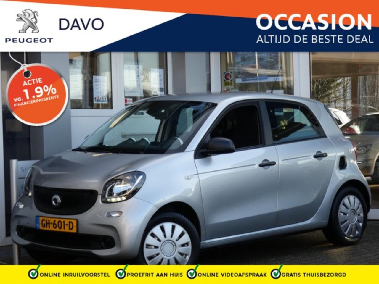 Smart Forfour 1.0 Pure NIEUWJAARSDEAL !! | PRIVATE LEASE VANAF 1