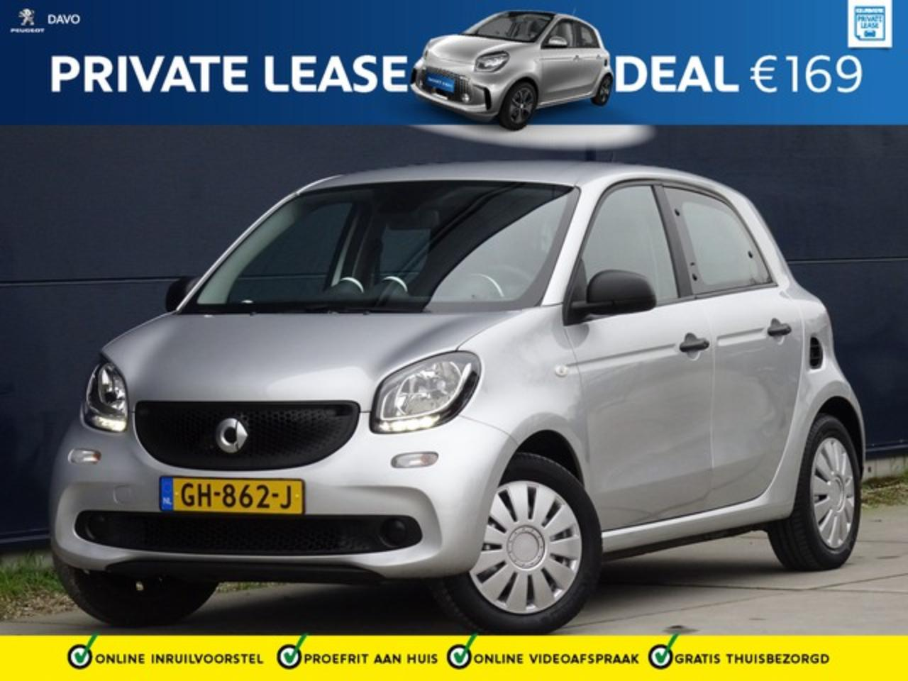 Smart Forfour 1.0 Pure met Climate I Bluetooth I Mooie Stand ! P