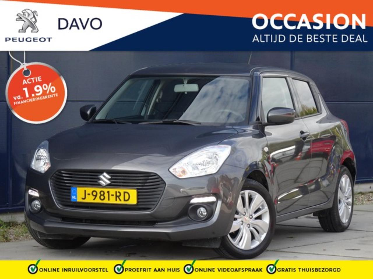 Suzuki Swift 1.2 90pk Select met Airco I Navigatie I Camera I D