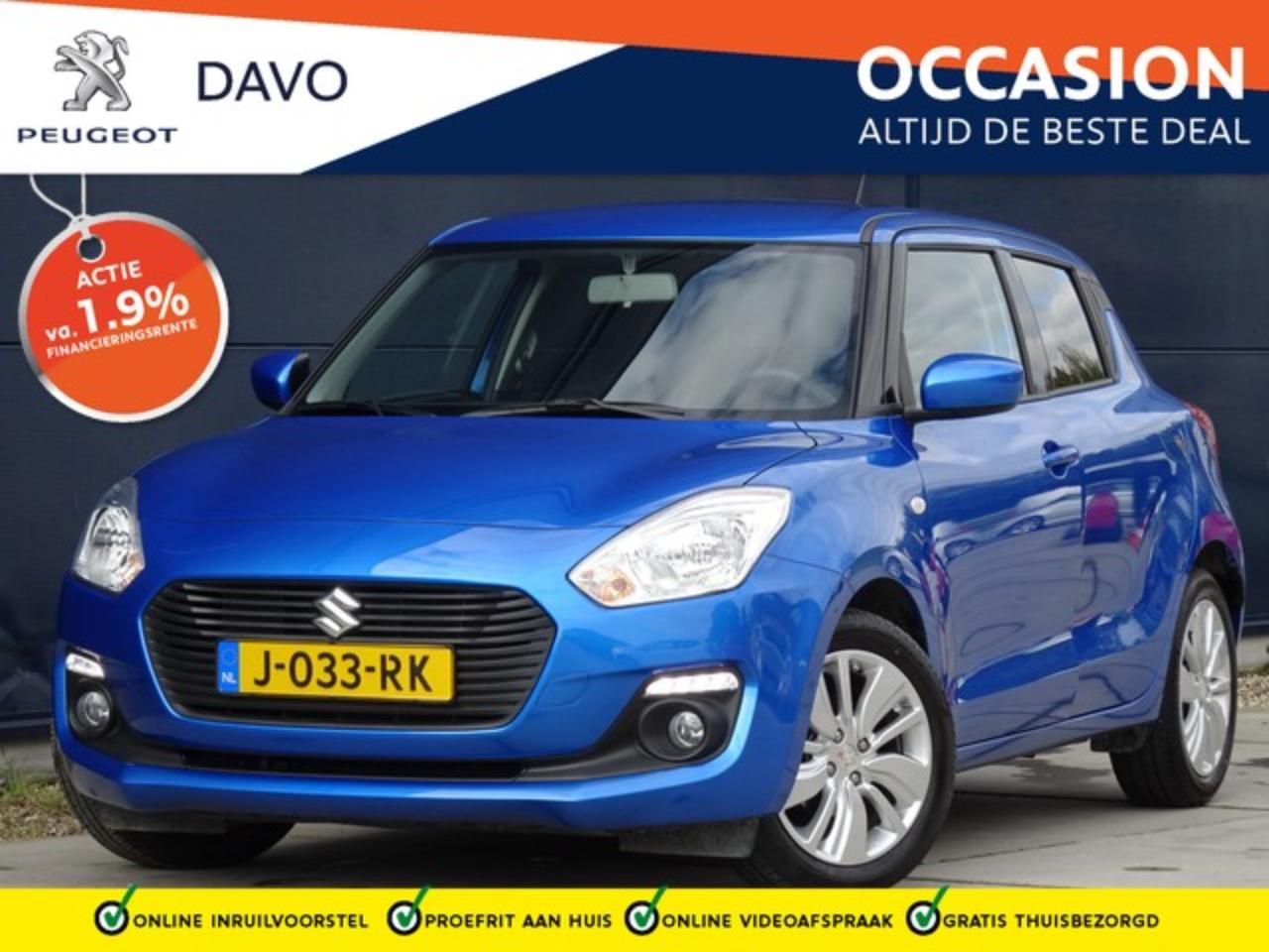 Suzuki Swift 1.2 90pk Select met Airco I Navigatie I DAB I Came