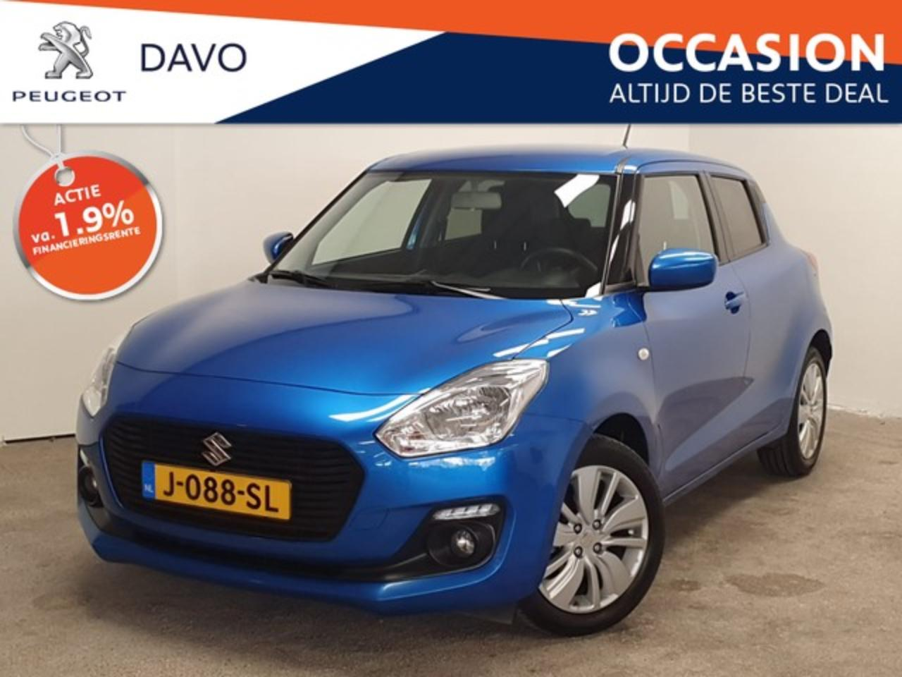 Suzuki Swift 1.2 90PK Comfort * Stoelverwarming / Camera / Blue